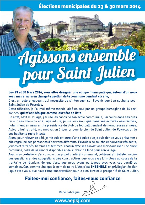flyer campagne